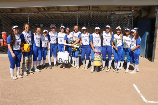 Pres Softball - CIF State Academic Team Champion