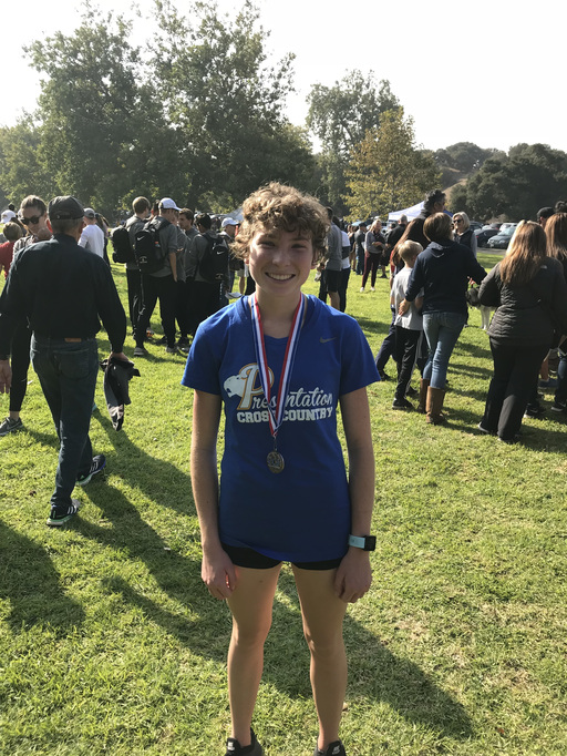 Mendoza Named to All NorCal XC Team