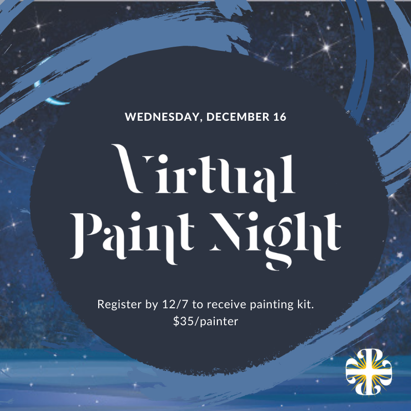 Community-Wide Virtual Paint Night