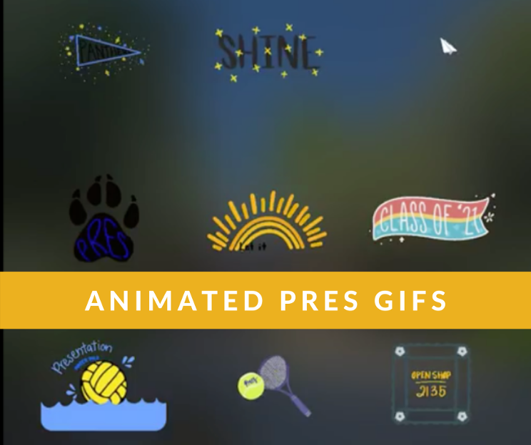 Animated GIFs Created by Pres Students Now Available on Giphy
